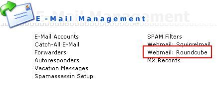 دسترسی به ایمیل دایرکت ادمین