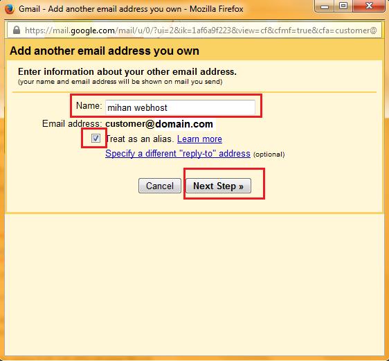 آموزش افزودن ایمیل هاست به gmail