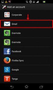ایمیل - تنظیم اکانت ایمیل برای گوشیهای اندروید Android