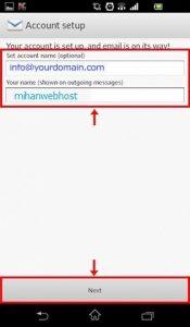 اکانت - تنظیم اکانت ایمیل برای گوشیهای اندروید Android