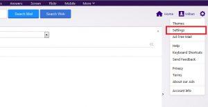 تنظیمات - آموزش افزودن ایمیل هاست به yahoo