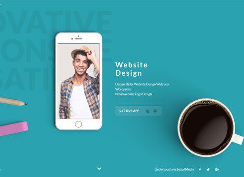 طراحی اسلایدر سایت