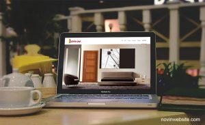 طراحی سایت شرکت ایمن سامان
