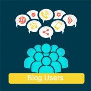 افزایش تعداد کاربران در بلاگ
