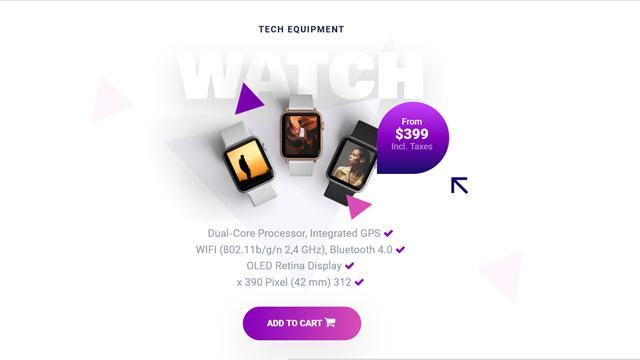 طراحی اسلایدر سایت فروشگاه