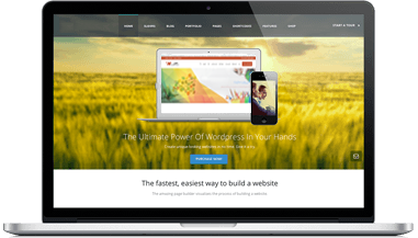 macbook - طراحی اسلایدر وب سایت
